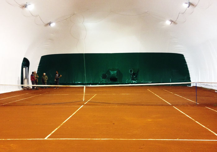 Red clay courts Indoor